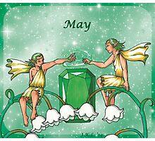 May Zodiac Photographic Print