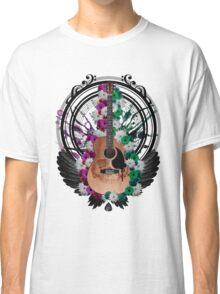 Acoustic Guitar Art Classic T-Shirt