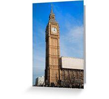 Big Ben. London, UK. Greeting Card