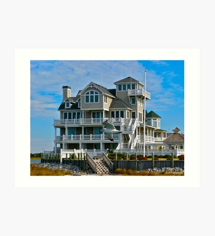 Hatteras, Outer Banks Art Print