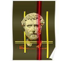 Pixel art: Rome Poster