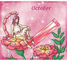 October Zodiac Photographic Print