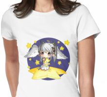 angelic star sheep Womens Fitted T-Shirt