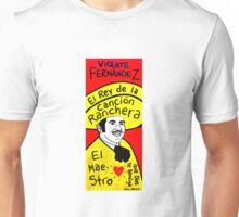 Vicente Fernandez Mexico Pop Folk Art Unisex T-Shirt