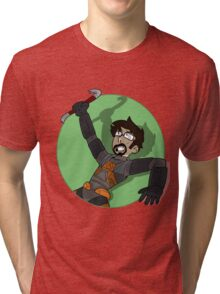 Gordon Freeman Tri-blend T-Shirt