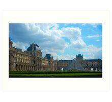 Musée du Louvre, Paris Art Print