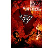 blood stains the heart of the diamond Photographic Print