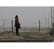 India duststorm Photographic Print