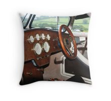guess the cockpit competition Throw Pillow