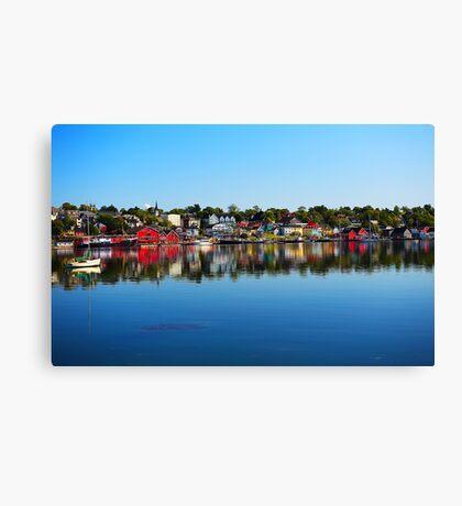 Lunenburg - Nova Scotia Canvas Print