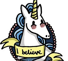 I Believe in Unicorns by bls15