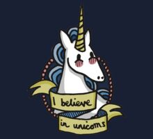 I Believe in Unicorns Kids Tee