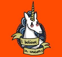 I Believe in Unicorns Kids Clothes