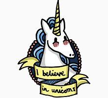 I Believe in Unicorns Men's Baseball ¾ T-Shirt