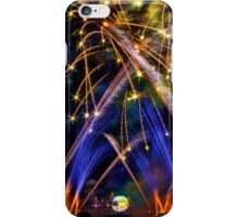 Big Blue Illuminations Fireworks at Epcot iPhone Case/Skin