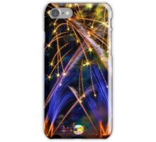 Big Blue Illuminations Fireworks at Epcot iPhone Case/Skin