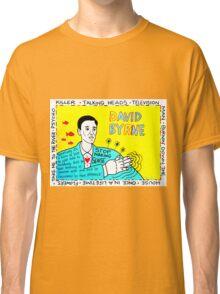 David Byrne Pop Folk Art Classic T-Shirt