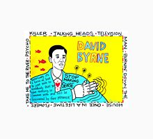 David Byrne Pop Folk Art Unisex T-Shirt