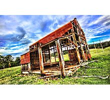Coast Shed Photographic Print