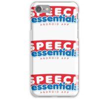 Speech Essentials Sticker iPhone Case/Skin