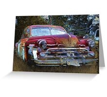 1950 Dodge DeSoto Greeting Card