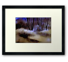 Quietude... Framed Print