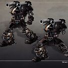 Shogunner - battle damage v2 by Ted Kim