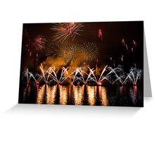 Fireworks 30 Greeting Card