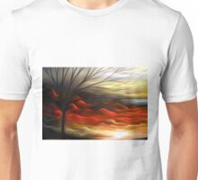 Abstract Trees Oil Painting #8 Unisex T-Shirt
