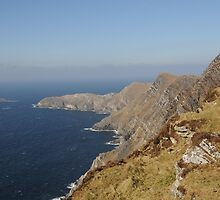 Achill Cliffs by Simone Kelly