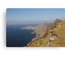 Achill Cliffs Canvas Print