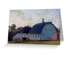 Louisa County, Iowa Barns Greeting Card