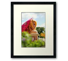 apricot sundae Framed Print
