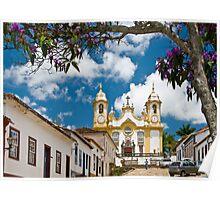Tiradentes, Minas Gerais, Brasil Poster