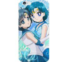 Sailor Mercury 2D and 3D  iPhone Case/Skin