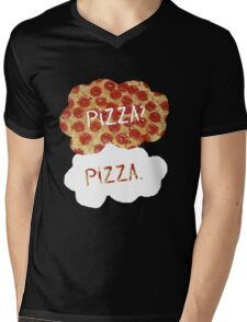 The Fault in Our Pizza Mens V-Neck T-Shirt