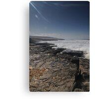 Burren shore Canvas Print