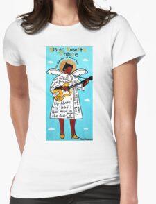 Sister Rosetta Tharpe Gospel Folk Art Womens Fitted T-Shirt