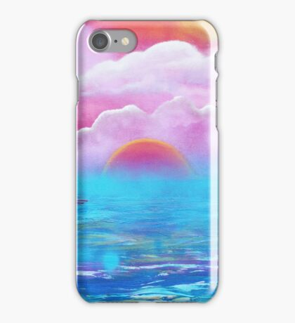 Cotton Candy Cove iPhone Case/Skin