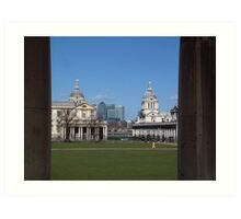 Greenwich & the City Art Print