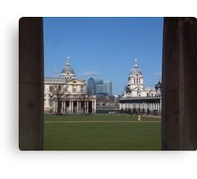 Greenwich & the City Canvas Print