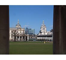 Greenwich & the City Photographic Print