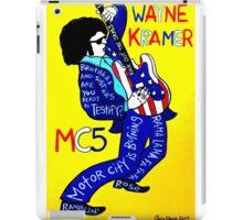 Wayne Kramer MC5 Pop Folk Art iPad Case/Skin
