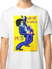 Wayne Kramer MC5 Pop Folk Art Classic T-Shirt