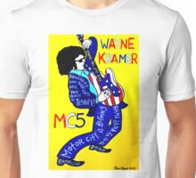 Wayne Kramer MC5 Pop Folk Art Unisex T-Shirt