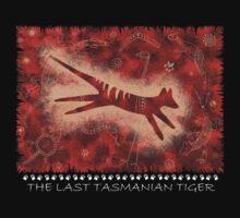 Tasmanian Tiger Cave Art Shirt by PurpleMoose