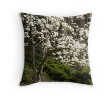 The Trees of the Field Bear Their Fruit Throw Pillow