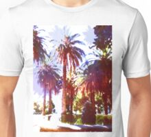 Tropical Palm Trees, beach Unisex T-Shirt