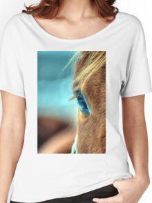 Horse Eye Women's Relaxed Fit T-Shirt