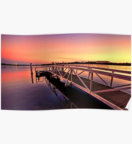 The Sunset Jetty Poster